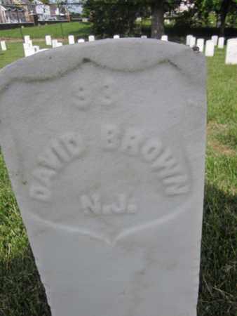BROWN (CW), DAVID - Anne Arundel County, Maryland | DAVID BROWN (CW) - Maryland Gravestone Photos