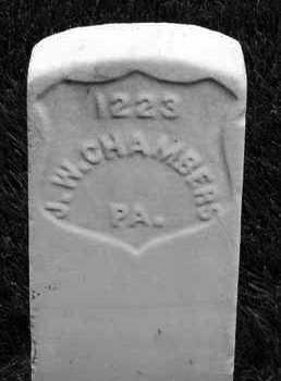 CHAMBERS (CW), JOHN W. - Anne Arundel County, Maryland | JOHN W. CHAMBERS (CW) - Maryland Gravestone Photos