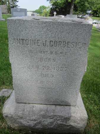 CORBESIER (CW), ANTOINE J. - Anne Arundel County, Maryland | ANTOINE J. CORBESIER (CW) - Maryland Gravestone Photos