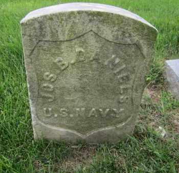 DANIELS, JOSEPH B. - Anne Arundel County, Maryland | JOSEPH B. DANIELS - Maryland Gravestone Photos
