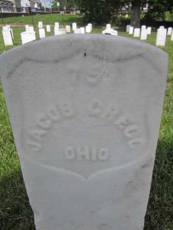 GREGG (CW), JACOB - Anne Arundel County, Maryland   JACOB GREGG (CW) - Maryland Gravestone Photos
