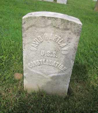 HARTLAND, DAVID - Anne Arundel County, Maryland | DAVID HARTLAND - Maryland Gravestone Photos