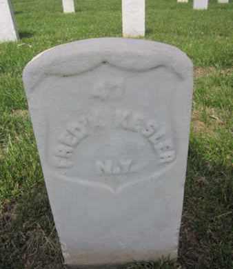 KESLER (CW), FREDERICK - Anne Arundel County, Maryland | FREDERICK KESLER (CW) - Maryland Gravestone Photos