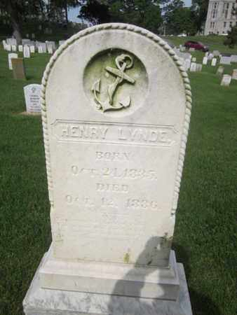 LYNDE (CW), HENRY - Anne Arundel County, Maryland | HENRY LYNDE (CW) - Maryland Gravestone Photos