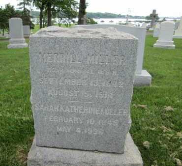 MILLER (CW), MERRILL - Anne Arundel County, Maryland   MERRILL MILLER (CW) - Maryland Gravestone Photos