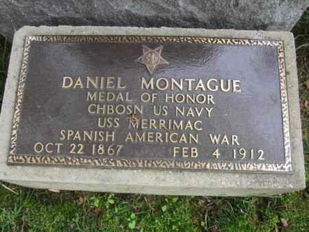 MONTAGUE (MOH), DANIEL - Anne Arundel County, Maryland | DANIEL MONTAGUE (MOH) - Maryland Gravestone Photos