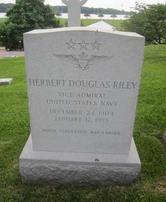 RILEY, HERBERT DOUGLAS - Anne Arundel County, Maryland   HERBERT DOUGLAS RILEY - Maryland Gravestone Photos