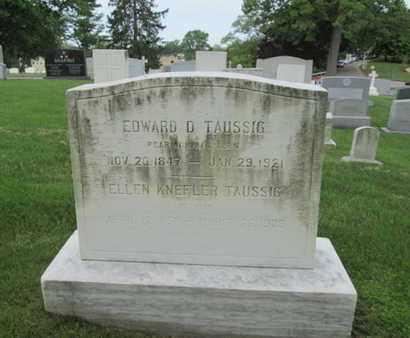 TAUSSIG, EDWARD D. - Anne Arundel County, Maryland   EDWARD D. TAUSSIG - Maryland Gravestone Photos
