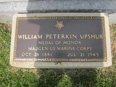 UPSHUR (MOH), MAJ. GEN. WILLIAM PETERKIN - Anne Arundel County, Maryland | MAJ. GEN. WILLIAM PETERKIN UPSHUR (MOH) - Maryland Gravestone Photos
