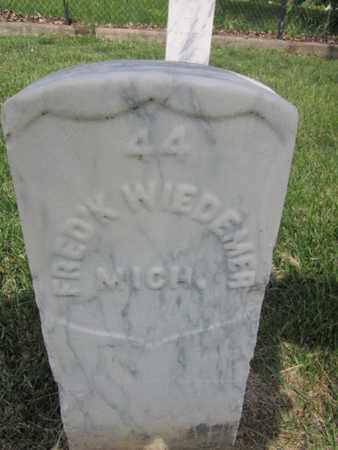 WIEDEMER (WEIDMIER) (CW), FREDERICK - Anne Arundel County, Maryland | FREDERICK WIEDEMER (WEIDMIER) (CW) - Maryland Gravestone Photos