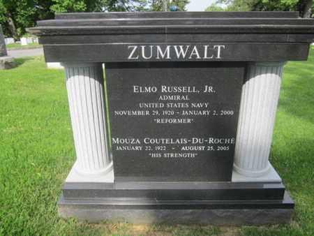 ZUMWALT,JR., ELMO RUSSELL - Anne Arundel County, Maryland | ELMO RUSSELL ZUMWALT,JR. - Maryland Gravestone Photos
