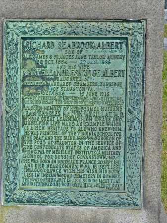 ALBERT, RICHARD SEABROOK - Baltimore City County, Maryland   RICHARD SEABROOK ALBERT - Maryland Gravestone Photos