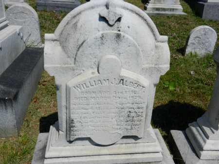 ALBERT, WILLIAM J. - Baltimore City County, Maryland   WILLIAM J. ALBERT - Maryland Gravestone Photos