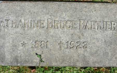 BAETJER, CATHARINE BRUCE - Baltimore City County, Maryland | CATHARINE BRUCE BAETJER - Maryland Gravestone Photos