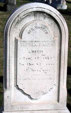BAKER, SOPHIA - Baltimore City County, Maryland | SOPHIA BAKER - Maryland Gravestone Photos