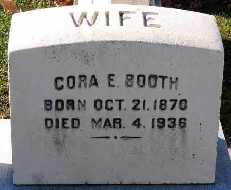 BOOTH, CORA E. - Baltimore City County, Maryland | CORA E. BOOTH - Maryland Gravestone Photos