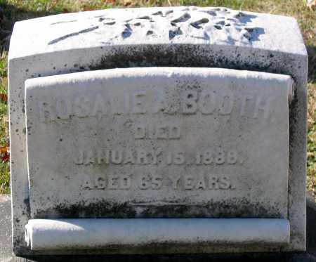 BOOTH, ROSALIE A. - Baltimore City County, Maryland | ROSALIE A. BOOTH - Maryland Gravestone Photos