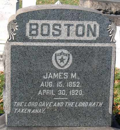 BOSTON, JAMES M. - Baltimore City County, Maryland | JAMES M. BOSTON - Maryland Gravestone Photos