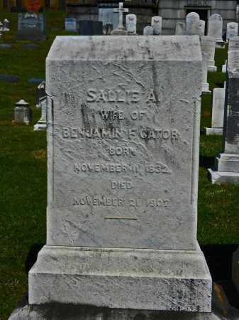 CATOR, SALLIE A. - Baltimore City County, Maryland   SALLIE A. CATOR - Maryland Gravestone Photos