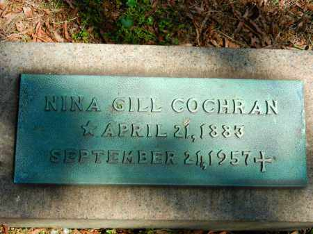 COCHRAN, NINA - Baltimore City County, Maryland | NINA COCHRAN - Maryland Gravestone Photos