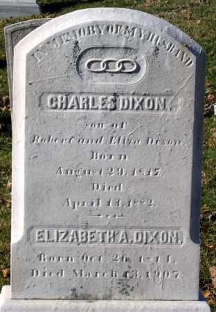 DIXON, ELIZABETH A. - Baltimore City County, Maryland | ELIZABETH A. DIXON - Maryland Gravestone Photos