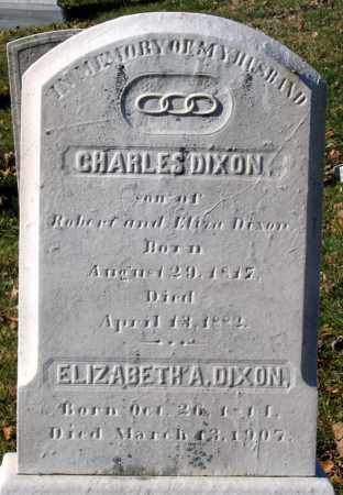 DIXON, CHARLES - Baltimore City County, Maryland | CHARLES DIXON - Maryland Gravestone Photos