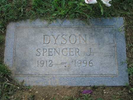 DYSON, SPENCER - Baltimore City County, Maryland | SPENCER DYSON - Maryland Gravestone Photos