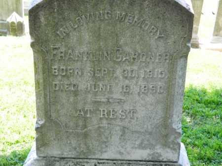 GARDNER, FRANKLIN - Baltimore City County, Maryland | FRANKLIN GARDNER - Maryland Gravestone Photos