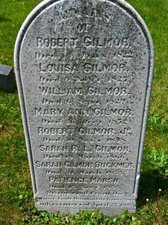 GILMOR, SARAH - Baltimore City County, Maryland | SARAH GILMOR - Maryland Gravestone Photos