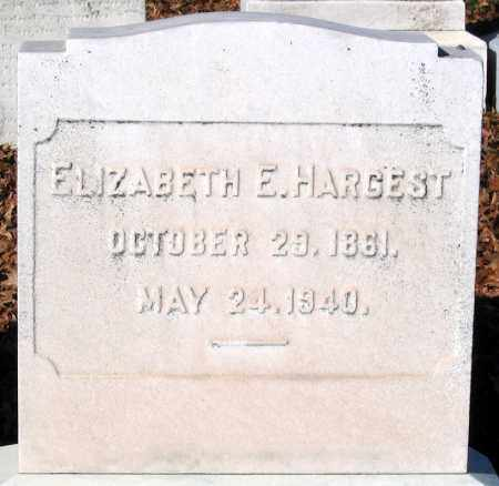 HARGEST, ELIZABETH E. - Baltimore City County, Maryland | ELIZABETH E. HARGEST - Maryland Gravestone Photos