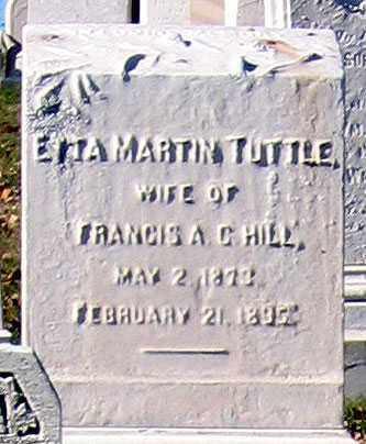 HILL, ETTA MARTIN - Baltimore City County, Maryland | ETTA MARTIN HILL - Maryland Gravestone Photos