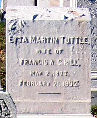 HILL, ETTA MARTIN - Baltimore City County, Maryland | ETTA MARTIN HILL - Maryland Gravestone Photos
