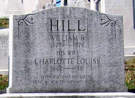 HILL, WILLIAM B. - Baltimore City County, Maryland | WILLIAM B. HILL - Maryland Gravestone Photos