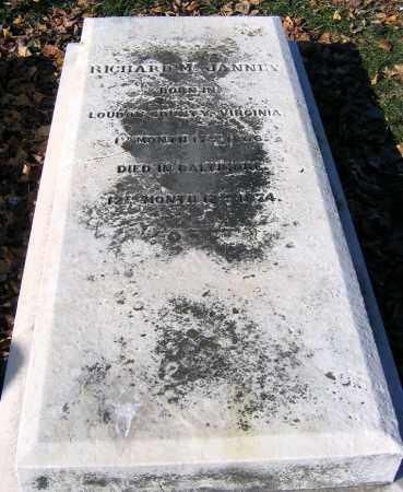 JANNEY, RICHARD M. - Baltimore City County, Maryland   RICHARD M. JANNEY - Maryland Gravestone Photos