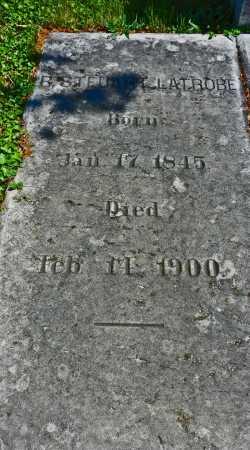LATROBE, R. STEUART - Baltimore City County, Maryland | R. STEUART LATROBE - Maryland Gravestone Photos