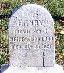 LORD, HENRY - Baltimore City County, Maryland | HENRY LORD - Maryland Gravestone Photos