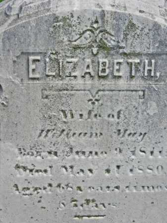 MAY, ELIZABETH - Baltimore City County, Maryland | ELIZABETH MAY - Maryland Gravestone Photos