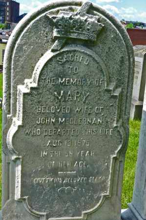 MCCLERNAN, MARY - Baltimore City County, Maryland | MARY MCCLERNAN - Maryland Gravestone Photos
