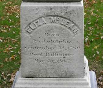 ESP(E)Y MCLEAN, ELIZA - Baltimore City County, Maryland | ELIZA ESP(E)Y MCLEAN - Maryland Gravestone Photos