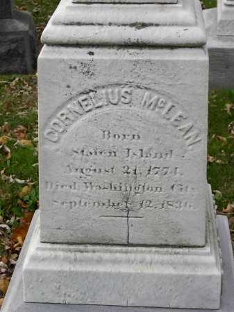 MCLEAN (SR.), CORNELIUS - Baltimore City County, Maryland | CORNELIUS MCLEAN (SR.) - Maryland Gravestone Photos