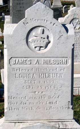 MILBURN, JAMES A. - Baltimore City County, Maryland   JAMES A. MILBURN - Maryland Gravestone Photos