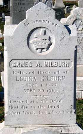 MILBURN, JAMES A. - Baltimore City County, Maryland | JAMES A. MILBURN - Maryland Gravestone Photos