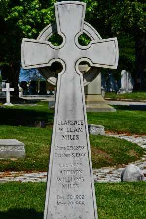 WILLIAMS MILES, ELEANOR ADDISON - Baltimore City County, Maryland | ELEANOR ADDISON WILLIAMS MILES - Maryland Gravestone Photos