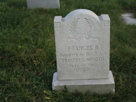 MORGAN, FRANCIS R. - Baltimore City County, Maryland   FRANCIS R. MORGAN - Maryland Gravestone Photos