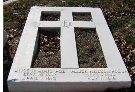 MINIS POE, ALICE H. - Baltimore City County, Maryland | ALICE H. MINIS POE - Maryland Gravestone Photos