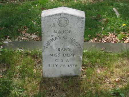 RHETT, THOMAS C.   MAJOR - Baltimore City County, Maryland | THOMAS C.   MAJOR RHETT - Maryland Gravestone Photos