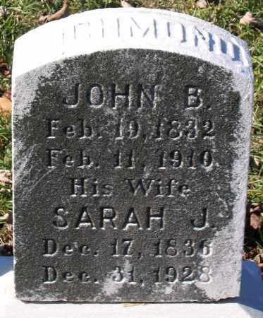 RICHMOND, SARAH J. - Baltimore City County, Maryland | SARAH J. RICHMOND - Maryland Gravestone Photos