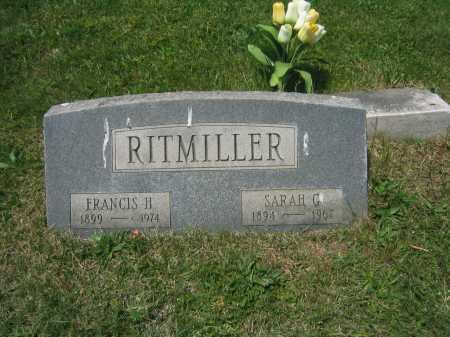 RITMILLER, SARAH G. - Baltimore City County, Maryland | SARAH G. RITMILLER - Maryland Gravestone Photos