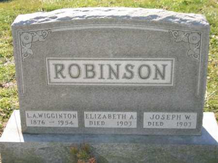 ROBINSON, JOSEPH WESLEY - Baltimore City County, Maryland | JOSEPH WESLEY ROBINSON - Maryland Gravestone Photos