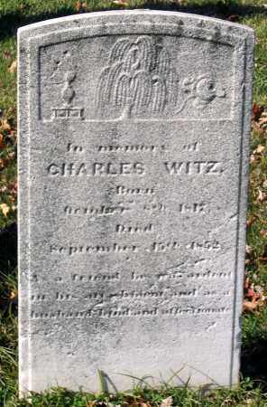 WITZ, CHARLES - Baltimore City County, Maryland | CHARLES WITZ - Maryland Gravestone Photos